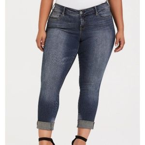 Torrid | Boyfriend Jeans Slim Skinny Stretch Denim